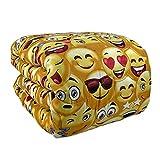 NADA HOME Trapunta piumone Singolo Invernale Smile Laura Blasi faccine Letto Emoji 1673