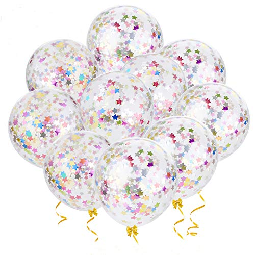 Outgeek Globos de Confeti, 20 Piezas 12