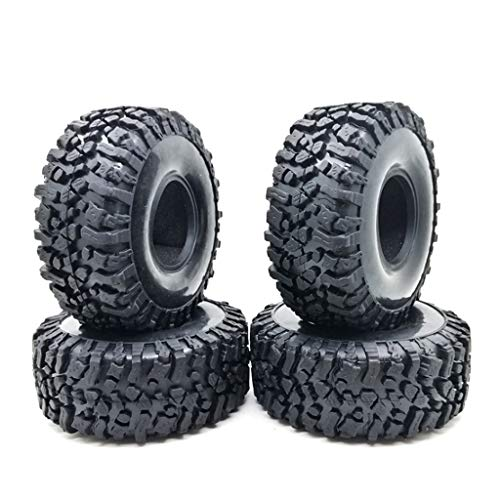 BELTI 4 Uds 120MM 1,9 Pulgadas neumáticos de Goma para Rocas neumáticos de Rueda para 1:10 RC Rock Crawler Axial SCX10 90047 D90 D110 TF2 TRX-4