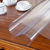 PVC Impermeable Protector Para Mesa,vinilo Plástico Mantel Cristal...