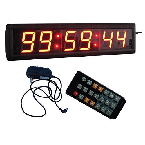 2,3' 6 dígitos LED Digital cuenta atrás temporizador con control remoto