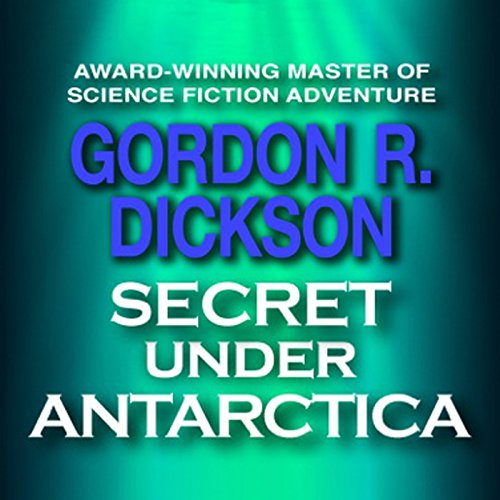 Secret under Antarctica audiobook cover art