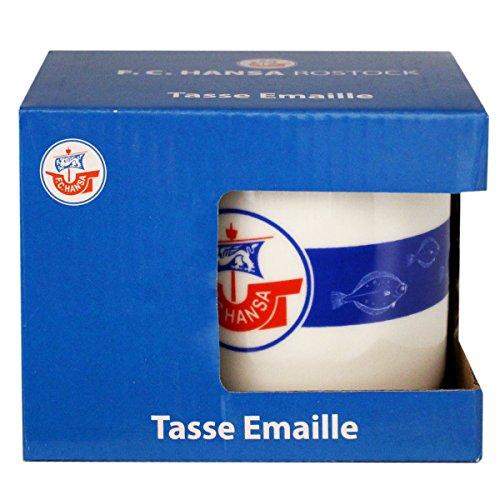 Hansa Rostock Tasse Emaille