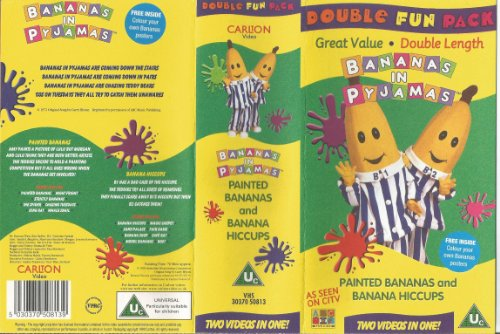Bananas in Pyjama Double Length Video - Painted Bananas / Banana Hiccups