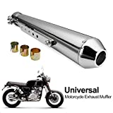 Oeyal Exhaust Muffler Universal 1.5-2' Inlet Slip On Motorcycle Exhaust...