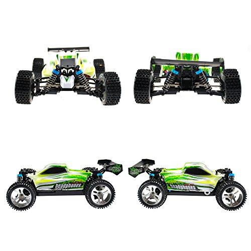 RC Auto kaufen Buggy Bild 4: efaso WL Toys A959-B Zusatzakku - schneller RC Buggy 70 km/h schnell, wendig, voll digital proportional - 2.4 GHz RC Auto mit Allradantrieb - Maßstab 1:18, hoher Fun Faktor*