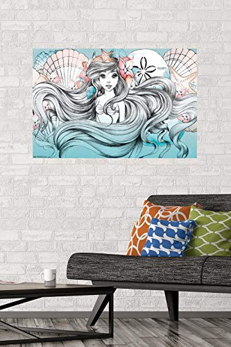 "Trends International Ariel-Land Or Sea Premium Wall Poster, 22.375"" x 34"""