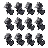 12 Pcs Hot Roller Clips Plastic Hair Curler Claw Clips for Women Girls