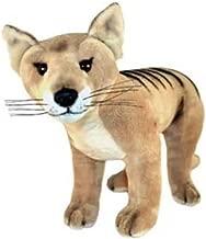 Bocchetta Plush Toys Cooper Australian Tasmanian Tiger, Thylacine Standing Stuffed Animal, Size 35cm/13.7″
