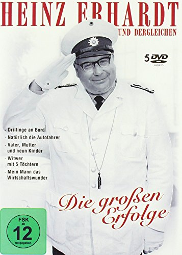 Heinz Erhardt - Die großen Erfolge (5er-Schuber) [5 DVDs]