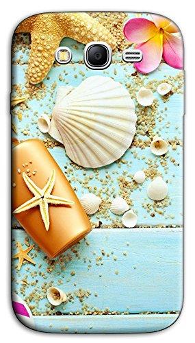 Mixroom - Cover Custodia Case in TPU Silicone Morbida per Samsung Galaxy Grand Neo I9060 (Plus) Y392 Fantasia Marina