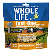Whole Life Pets Original Freeze Dried Pure Chicken Dogs Cat Treat Value Pack 21z