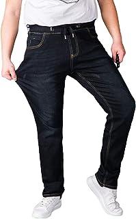 a0b8db14fe80aa Mxssi Nouveau Hommes Jeans Jogging Jeans Élastique Déchiré Pantalon Super  Stretch Jeans Distressed Jeans Pantalon Taille