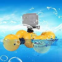 PULUZ Go proフローティングボール 多機能水中フロート 水上運動浮力球 GoPro HERO5セッション/ 5 / HERO4セッション/ 4/3/3 + / 2/1に最適 GoProアクセサリー ネジ付き ハンドストラップ付き