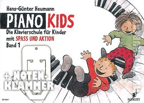 Piano Kids Band 1 inkl. praktischer Notenklammer - die Klavierschule für Kinder ab 6 Jahren mit SPASS UND AKTION (broschiert) von Hans-Günter Heumann (Noten/Sheetmusic)