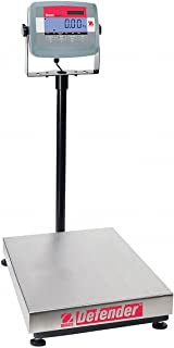 Ohaus D31P60BL Defender 3000 Bench Scale Rectangle, 132 pounds x 0.02 pounds