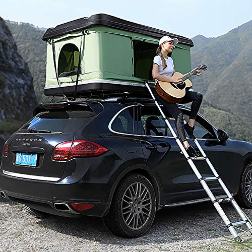 WLDQ Rooftop Tents Safe and Firm, Waterproof Fabric Outdoor...