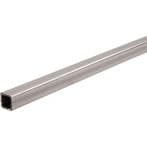 Value Collection 3 Inch Square x 72 Inch Long Aluminum Square Tube 1//8 Inch ...