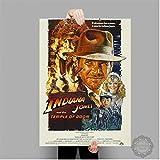 baiyinlongshop Leinwand Malerei Indiana Jones Poster