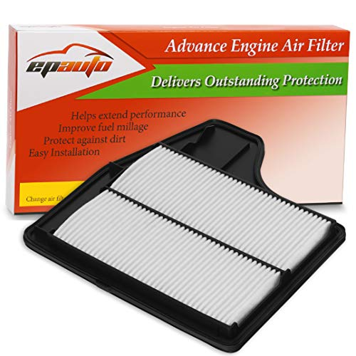 EPAuto GP450 (CA11450) Replacement for Nissan Extra Guard Rigid Panel Air Filter for Altima L4 Sedan (2013-2018)