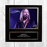 Tom Petty 1 NDB Signed Reproduction Autographed Wall Art - 10 inch x 10 inch Print (Card Mounted)