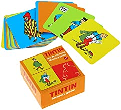 Moulinsart Playing Cards Memory Game The Adventures of Tintin V2 51070 (2016)