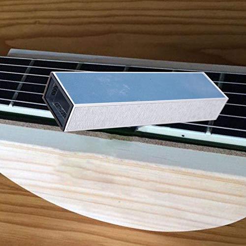Sólido y robusto. Papel de lijar para guitarra eléctrica Bajo Guitarra de madera para amantes de la música.(M02517)