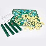 Juego de mesa de Scrabble con letras a juego, original o de viaje para niños, adultos, familias, vocabulario, desafío, tiempo ideal para regalos personalizados