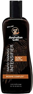 Australian Gold Rapid Tanning Intensifier Lotion, 8.5 Fl Oz | With Tea Tree Oil and Aloe..
