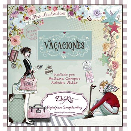 Dayka Trade Libro Scrap Vacaciones 24 Hojas