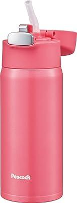 ピーコック魔法瓶工業 マグボトル ピンク 0.4L ステンレスボトル ストロータイプ APA-40 P