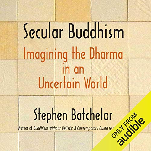 Couverture de Secular Buddhism