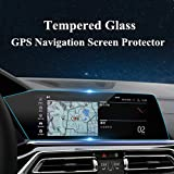 HOTRIMWORLD Anti-Scratch Tempered Glass GPS Navigation Screen Protector Foil for BMW X7 G07 2019