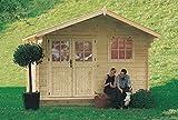 GartenPro Rosita - casetta in legno da giardino colore abete naturale
