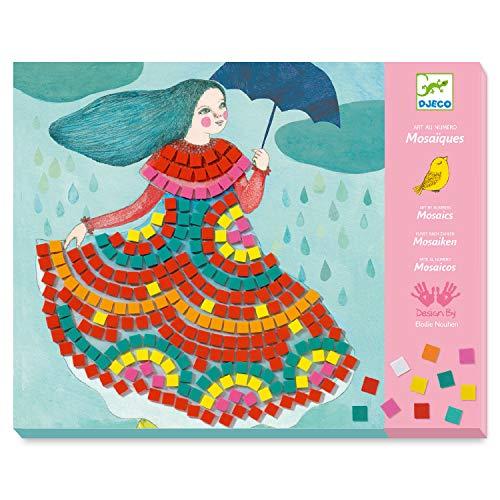 DJECO Party Dresses Sticker Mosaic Craft Kit