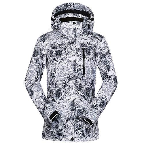 HoGau jas, verstelbaar, comfortabel, voor vrouwen, ski-jack, dames, winterjas, waterdicht, sneeuw, buiten, snowboard, ademend, ski-jack
