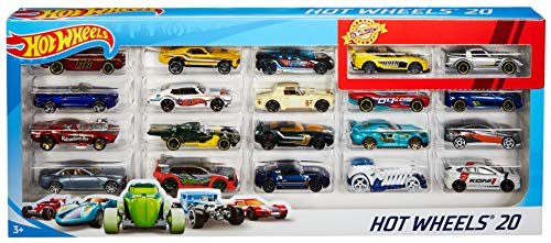 Hot Wheels H7045 20 Diecast Pack and Mini Toy Cars