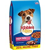Kibbles 'n Bits Small Breed Mini Bits Savory Beef & Chicken Flavor Dog Food, 4.2-Pound