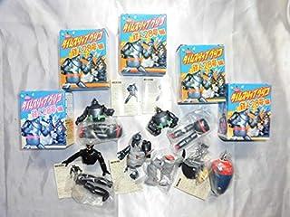 グリコ×海洋堂 タイムスリップグリコ 鉄人28号偏 可動 フィギュア 5体 モンスター ブラックオックス セット 未使用品です。