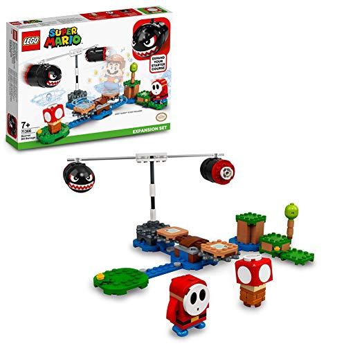 LEGO71366SuperMarioSet de Expansión: Avalancha de Bill Balazos, Juguete de Construcción