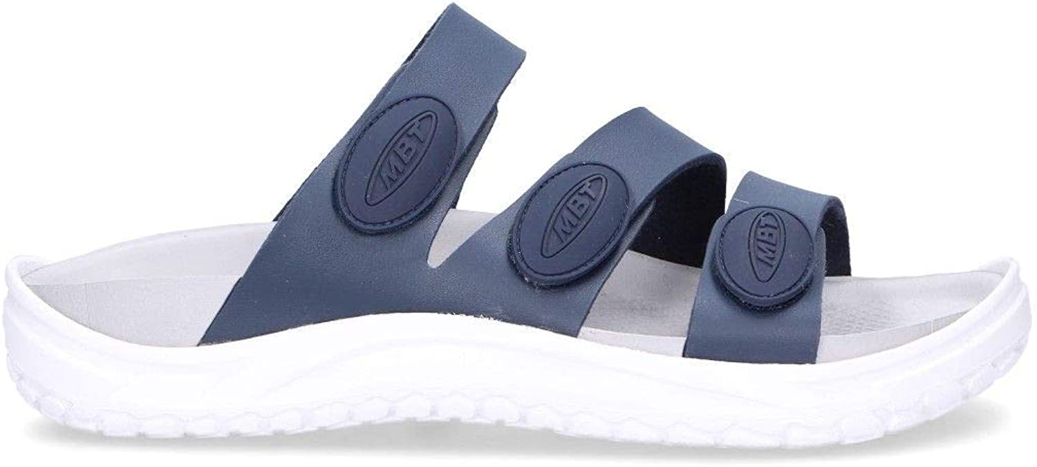 MBT Men's 90000612L bluee Rubber Sandals
