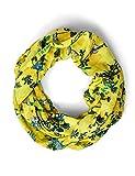 cecil 571151 sciarpa alla moda, fresh yellow, one size donna