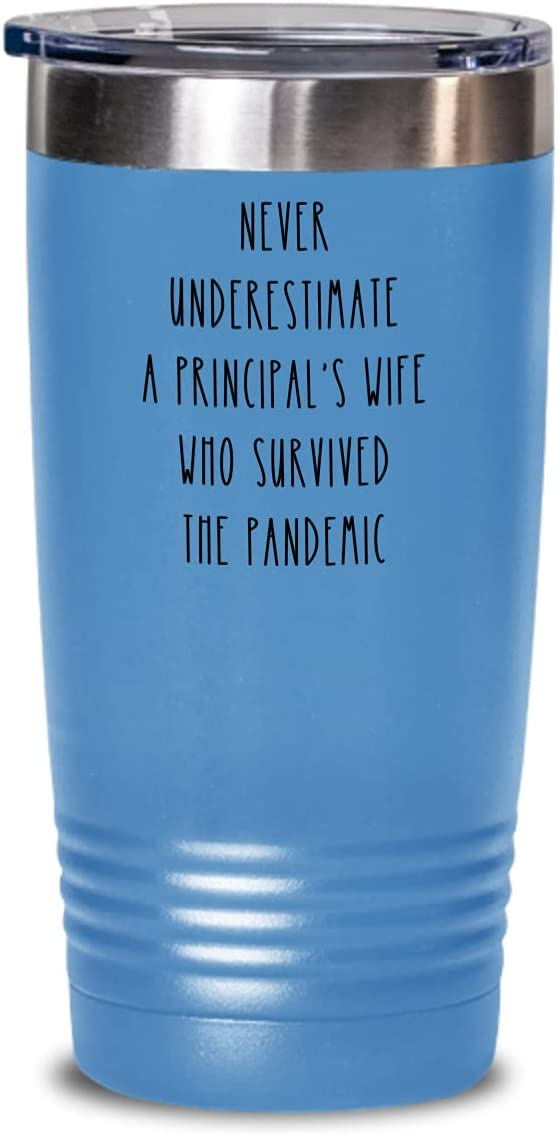 Principal Wife Tumbler Never Underestimate Survivor Japan Maker New Pandemic High quality new S