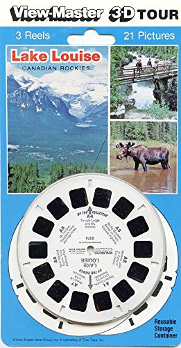 Viewmaster - Lake Louise, Canadian Rockies - 21 3d Images - NEW
