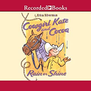 Cowgirl Kate and Cocoa audiobook cover art