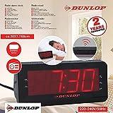 Dunlop Wekkerradio LCD display