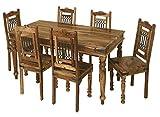 Jali Solid Sheesham Indian Rosewood 1.75M Dining Table/Solid Rosewood Dining Table ONLY/Dining Room Furniture