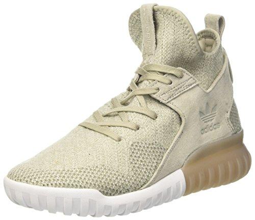 adidas adidas Herren Tubular X PK Basketballschuhe, Mehrfarbig (Sesame/cbrown/tracar), 40 2/3 EU