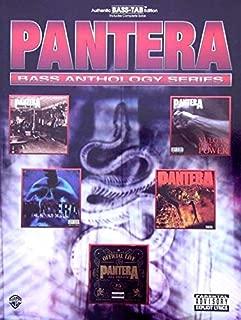 Pantera - Bass Anthology (Bass Anthology Series)