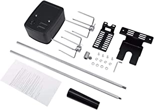 Rotisserie Motor Set Universal Rotisserie Kit For Outdoor Barbecue Stainless Steel Spit Rod Meat Forks With Electric Motor